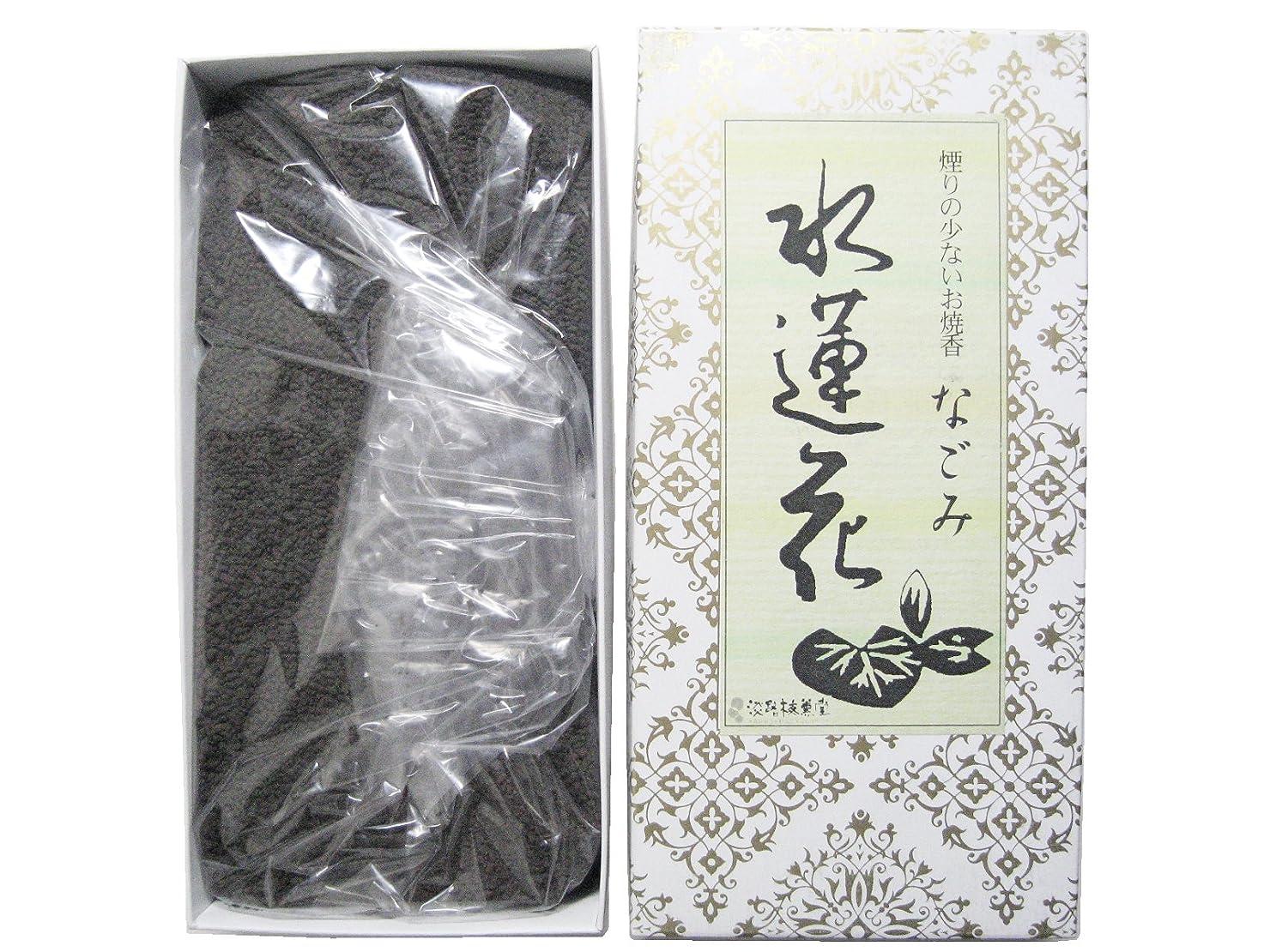 サラダ電極純粋に淡路梅薫堂のお香 煙の少ないお焼香 なごみ 水蓮花 500g×30箱 #931