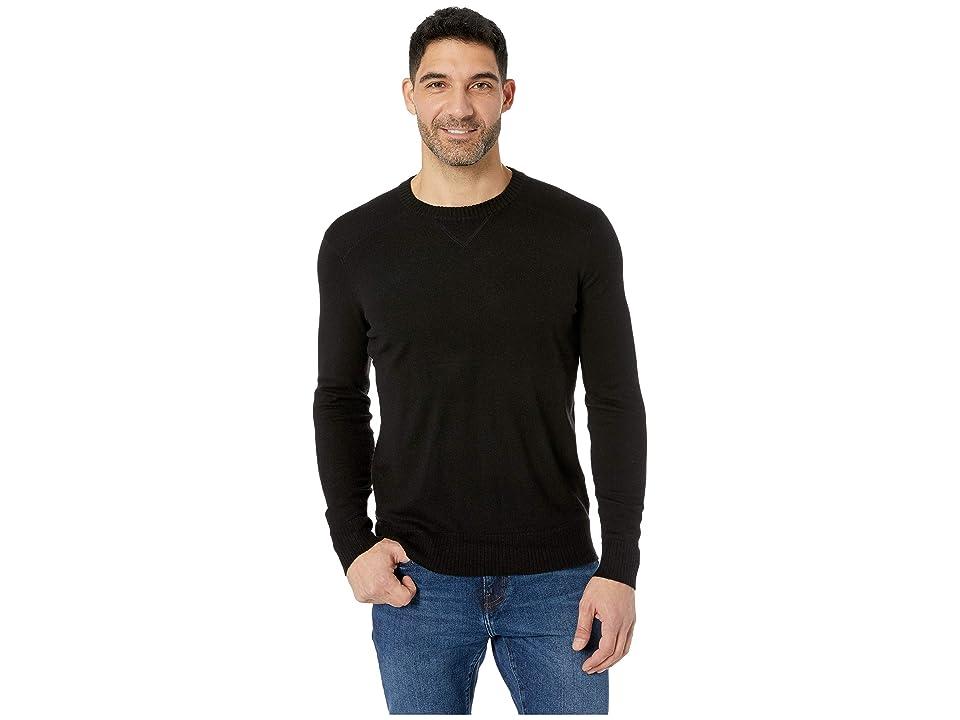 Smartwool Sparwood Crew Sweater (Black) Men