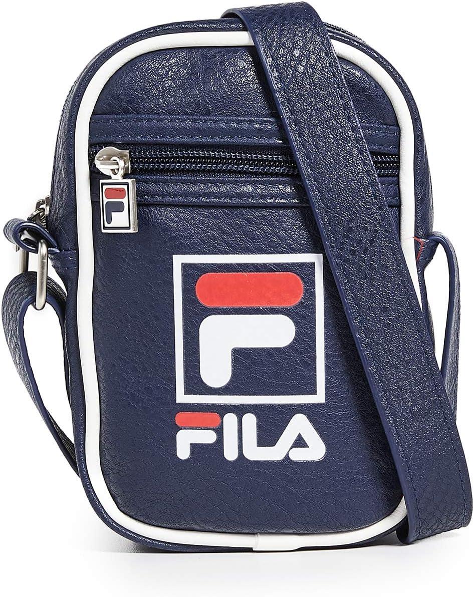 Fila Men's Mini Shoulder Bag, Blue, One Size
