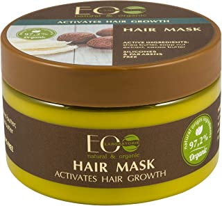 Organic Hair Mask Activates Hair Growth - PARABEN AND SILICONE FREE