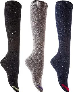 Lian LifeStyle Women's 3 Pairs Cute High Knee Cotton Socks Size 7-9 L158212-3p