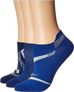 Everyday Plus Lightweight No Show Training Socks 3-Pair Pack