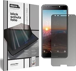 dipos I ögonskyddsfolie matt kompatibel med Alcatel A7 synskyddsfolie skärmskydd sekretessfilter