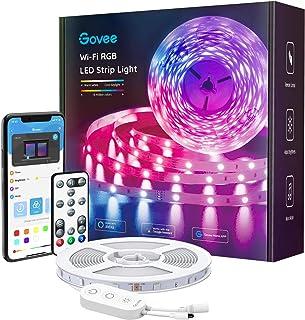 Govee Alexa LED Strip Lights, 16.4ft Smart Wi-Fi LED...