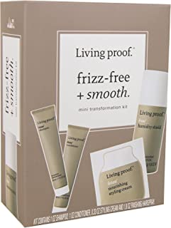 Living Proof Frizz-free + Smooth Mini Transformation Kit, 4.13 oz