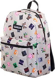 "Minecraft 16"" Characters All-Over Print Backpack"