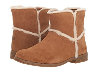 UGG Kids Coletta Boot (Toddler/Little Kid/Big Kid) (Chestnut) Girls Shoes