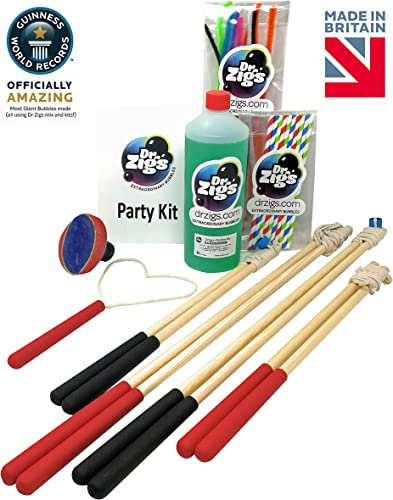 Giant Bubbles - Party Kit - Dr Zigs Extraordinary Bubbles