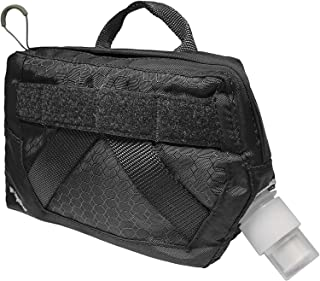 Kurgo Dog Hydration Flask   Detachable Molle Compatible Water Pouch   Attachable Pouch for Dog Molle Harness   Service Dog...