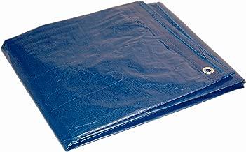 12x16 Multi-Purpose Blue Medium Duty DRY TOP Poly Tarp (12'x16')