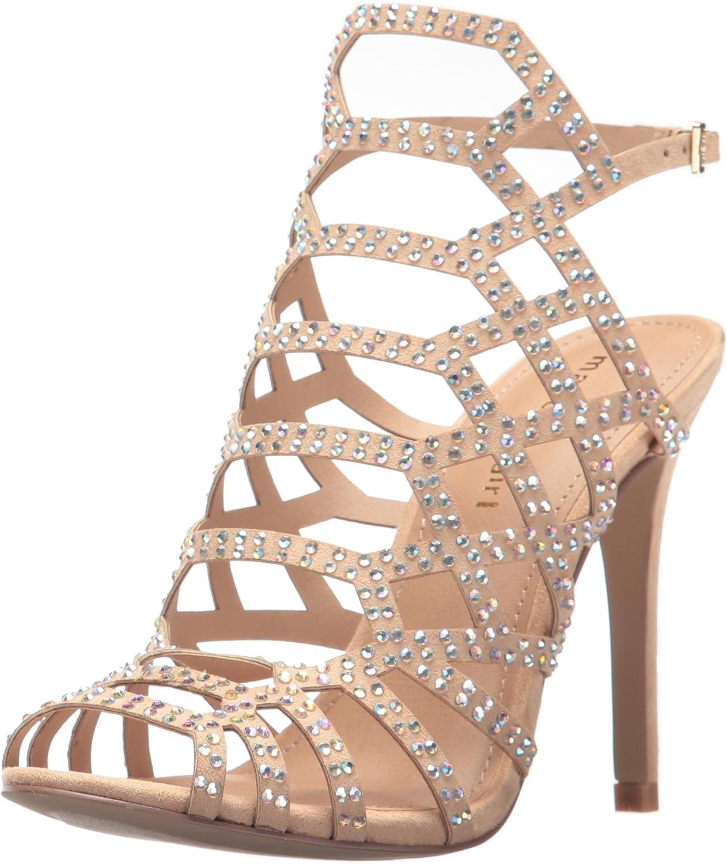 Madden girl Womens Direct-r Heeled Sandal