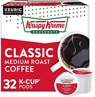 Krispy Kreme Classic, Single-Serve Keurig K-Cup Pods, Medium Roast Coffee Pods, 32 Count