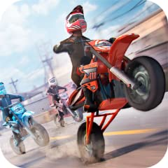 Incredible 3D graphics of real motorbikes Amazing racing game full of speedy movements and funny rival motocross and trial riders Intuitive mobile control for all skill levels An infinite race as a great challenge to improve your skills Choose your f...