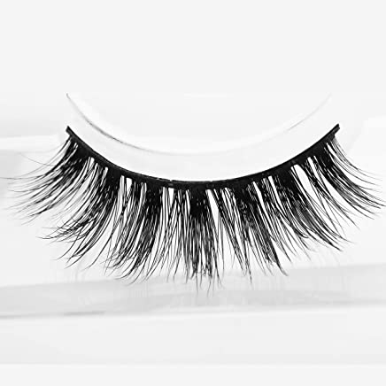 62dd0656aaa Arimika Handmade Natural 3D Authentic Mink False Eyelashes For Makeup 1  Pair Pack in Style M1001