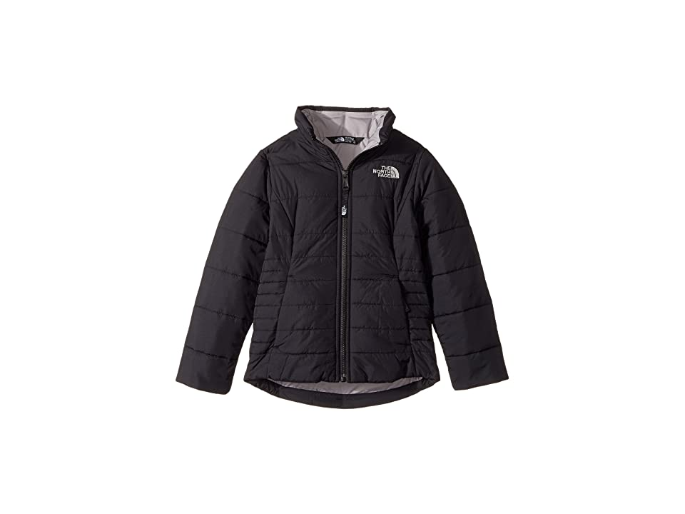 The North Face Kids All Season Insulated Jacket (Little Kids/Big Kids) (TNF Black/Metallic Silver) Girl