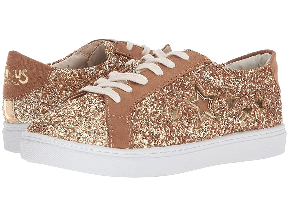 Circus by Sam Edelman Vanellope-1 (Gold/Golden Caramel Glitter/Microsuede/New Metal Grain) Women