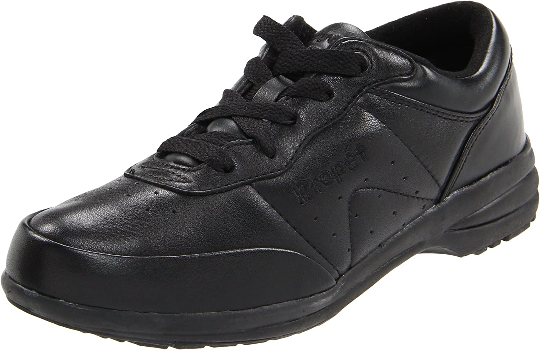 Propet Women's W3804 Life Walker Sneaker Black