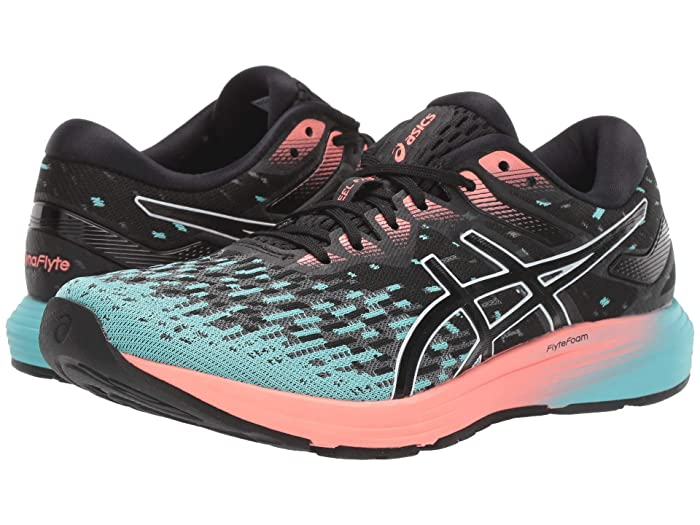 ASICS  Dynaflyte 4 (Black/Ice Mint) Womens Running Shoes