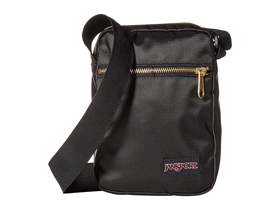 JanSport Weekender FX (Black/Gold) Weekender/Overnight Luggage