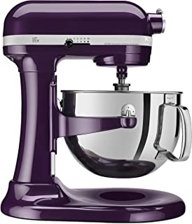 KitchenAid Professional 600 Series KP26M1XER Bowl-Lift Stand Mixer, 6 Quart, Purple Plumberry (Renewed)