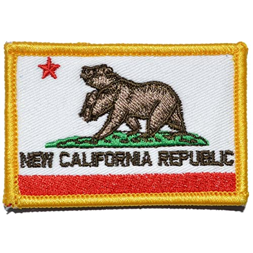 New California Republic NCR State Flag 2x3 Morale Patch - Full Color c078d9210e7d