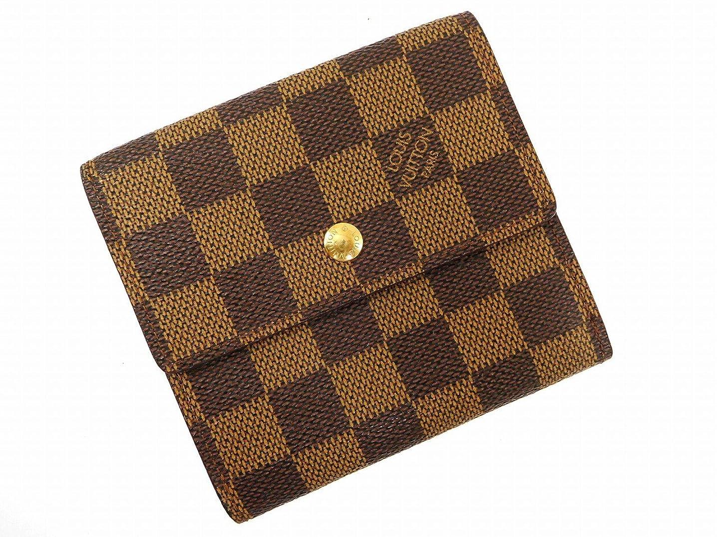 分類大宇宙洗練[ルイヴィトン] LOUIS VUITTON 二つ折り財布 ダミエ N61652 PVC×レザー X16002 中古