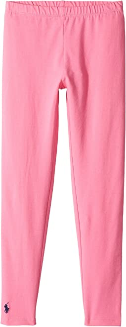 Polo Ralph Lauren Kids - Solid Jersey Leggings (Little Kids/Big Kids)