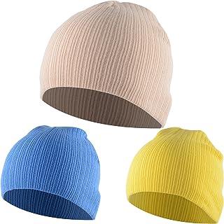 b72938a06d0 American Trends Toddler Infant Cotton Caps Kids Cute Knit Hat Children  Winter Cozy Crochet Multicolor Beanie