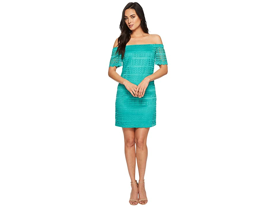 Trina Turk Merengue Dress (Aquatic) Women