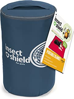 Insect Shield Insect Repellant Portable Blanket for Protecting Dogs from Fleas, Ticks, Mosquitoes & More