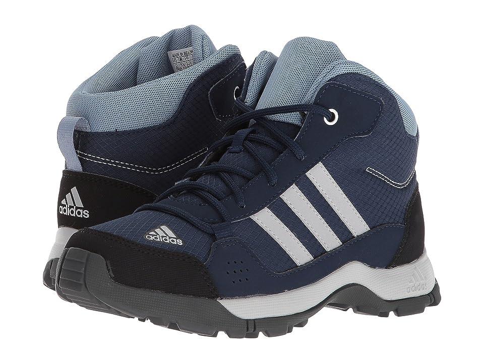 adidas Outdoor Kids Hyperhiker (Little Kid/Big Kid) (Collegiate Navy/Grey Two/Raw Grey) Boys Shoes