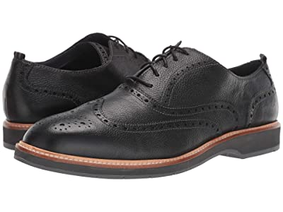 Cole Haan Morris Wing Oxford (Black Tumble) Men