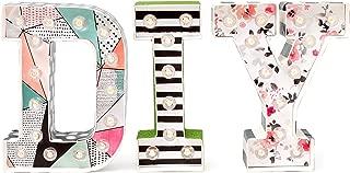 Heidi Swapp Marquee Love Led Letras D, Cartón, Blanco, 21.6x5.6x21.6 cm