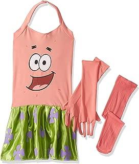 SpongeBob Squarepants Girl's Patrick Costume, Medium
