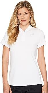 NIKE Women's Dry Short Sleeve Blade Golf Polo