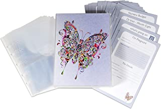 UniKeep Pregnancy Journal and Scrapbook Album with Weekly Journal Pages, Checklists, and 15 Photo Protector Pages