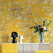 Special/Simple Wallpaper Living Room Bedroom TV Wall Paper Pink (Color : Banana Yellow, Size : 0.53 * 10m)