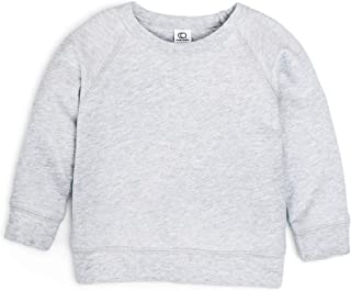 Long Sleeve Organic Cotton Pullover Top for Infants, Toddlers & Kids