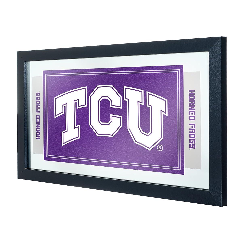 NCAA Texas Christian University Framed Logo Mirror