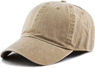 THE HAT DEPOT 100% Cotton Pigment Dyed Low Profile Six Panel Cap Hat e6753abe1be5