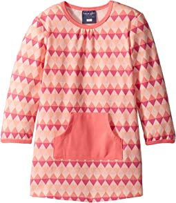 Toobydoo - Geo Pink Pocket Dress (Infant/Toddler)