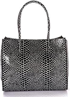 Lela fashion hand & shoulders bag for women - black , 2725618471810