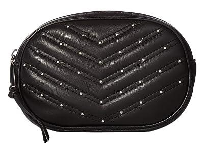 Rebecca Minkoff 20 mm Coin Purse Belt Bag (Black/Polished Nickel) Women