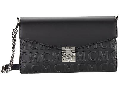 MCM Millie Monogram Leather Crossbody Medium