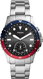 Fossil Men's FB-01 Stainless Steel Hybrid Smartwatch with Activity Tracking and Smartphone Notifications