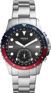Fossil FB-01 - Reloj inteligente híbrido de acero inoxidabl