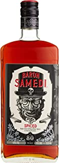 Baron Samedi Spiced Rum/hergestellt mit Rum aus Jamaica, Karibik/mit Vetiver-Gras – einem Süßgras aus Haiti Spiced 3 x 0.7 l