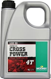 Motorex Cross Power 4T Oil - 10W50-4L. 171-401-400