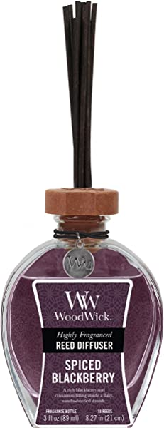 BLACK CHERRY WoodWick 3 Oz Reed Diffuser