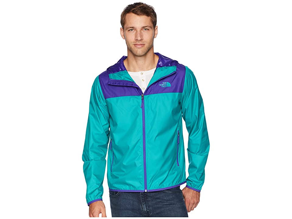 The North Face Cyclone 2 Hoodie (Deep Blue/Porcelain Green) Men